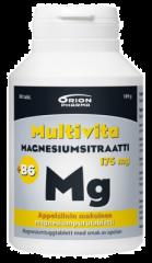 MULTIVITA MAGN.SITR.+B6 APPELSIINI 175 MG/2 MG 80 PURUTABL
