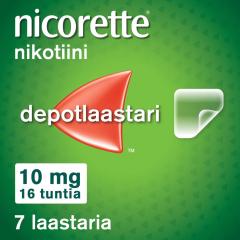 NICORETTE 10 mg/16 h depotlaast 7 kpl