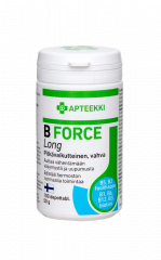 APTEEKKI B FORCE Long 100 depottabl