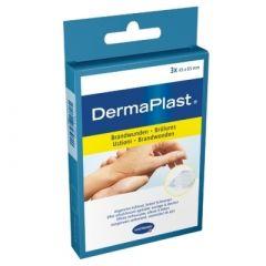 DermaPlast Effect Burns 4,5x6,5cm palovammalaastari 3 kpl