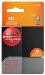 ZONNIC PEPPERMINT 1 mg/suihke sumute suuonteloon, liuos (3 ml)40 annosta