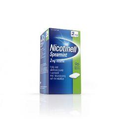 NICOTINELL SPEARMINT 2 mg lääkepurukumi 96 fol