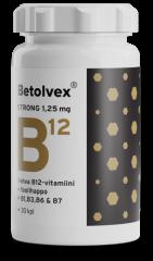 Betolvex Strong 1,25 mg B12-vitamiini 30 kaps